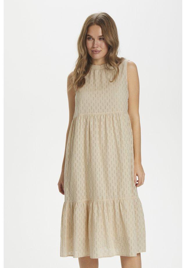 AIVASZ SL DRESS - Korte jurk - creme