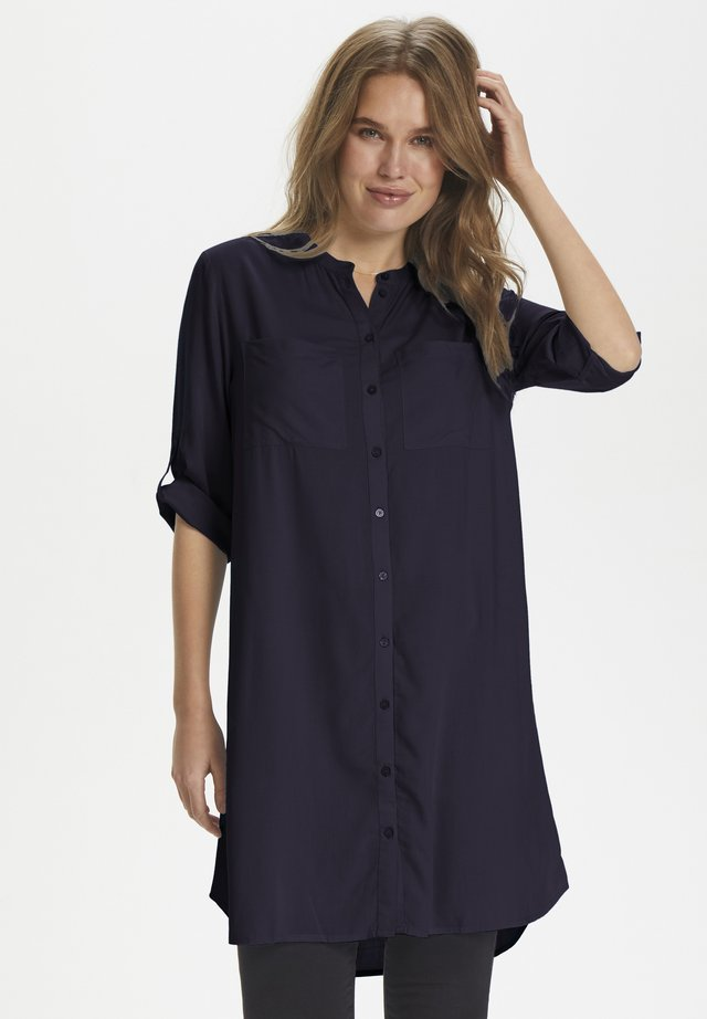 TROPEZ AKITASZ TUNIC - Shirt dress - blue deep