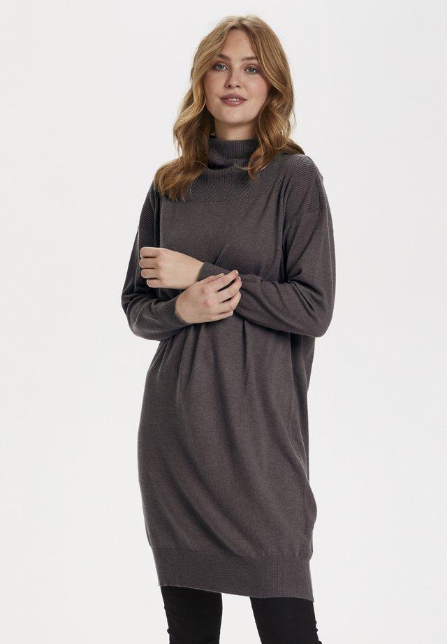 CASANDRASZ  - Jumper dress - dark brown