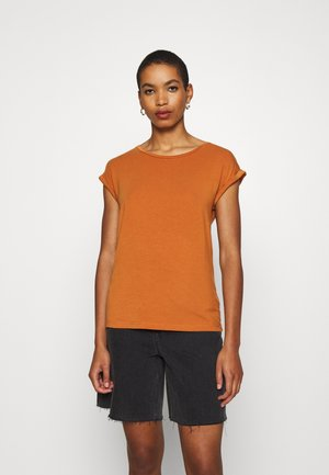 ADELIA - Print T-shirt - orange