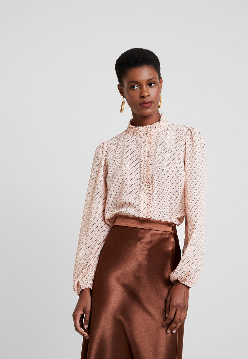 Saint Tropez - Button-down blouse - rose