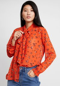 Saint Tropez - BLOUSE - Blouse - orange - 0