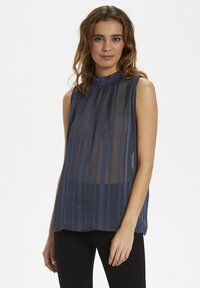 Saint Tropez - RILEENS - Blouse - total eclipse - 0
