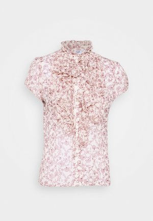 Button-down blouse - crystal outline
