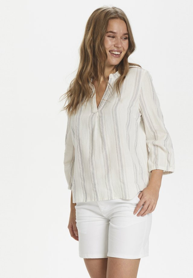 ALLISONSZ 3/4 BLOUSE - Pusero - ice