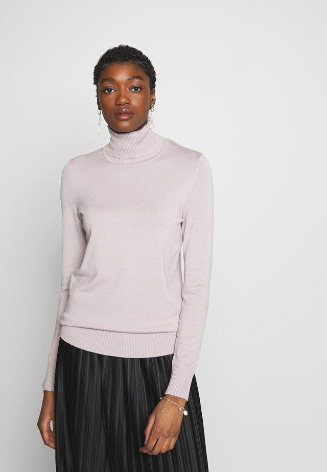 ROLL NECK - Jersey de punto - pale lilac