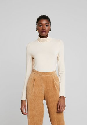 TURTLENECK - Long sleeved top - creme