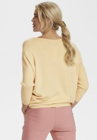 Saint Tropez - MILA NECK - Sweter - yellow - 2