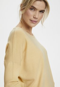 Saint Tropez - MILA NECK - Sweter - yellow - 4
