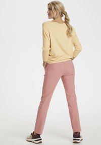 Saint Tropez - MILA NECK - Sweter - yellow - 3