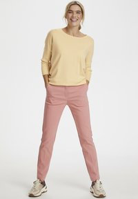 Saint Tropez - MILA NECK - Sweter - yellow - 1