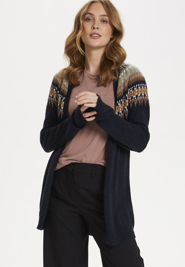 CARASZ - Cardigan - blue deep