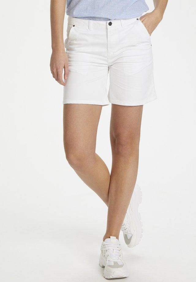 ALISONSZ SHORTS - Shorts - bright white