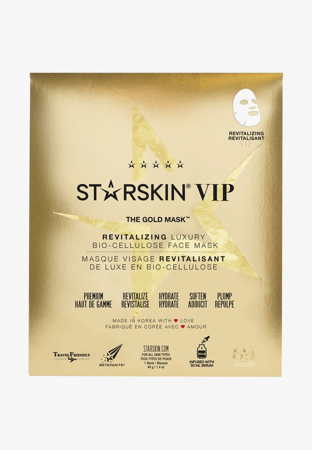 THE GOLD MASK - Face mask - -