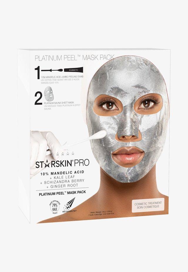 PLATINUM PEEL MASK PACK - Skincare set - -
