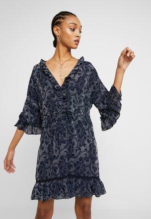 THE EIFFEL MINI DRESS - Day dress - blue
