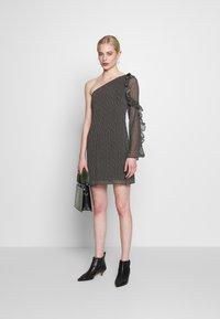 Stevie May - SPECKLE MINI DRESS - Day dress - black - 1