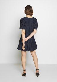 Stevie May - CHATEAU MINI DRESS - Day dress - navy blue - 2
