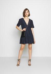 Stevie May - CHATEAU MINI DRESS - Day dress - navy blue - 1