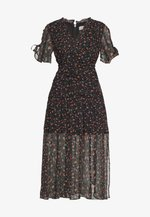 HARRIET MIDI DRESS - Day dress - black