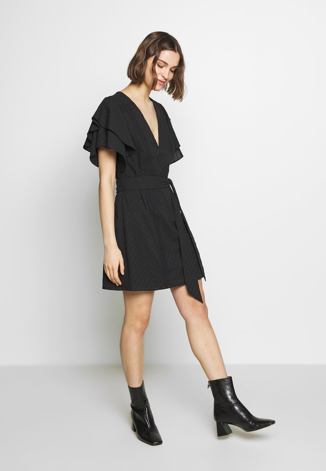 SURREY MINI DRESS - Korte jurk - black