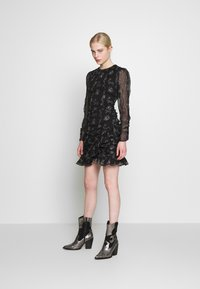 Stevie May - DEVONTE MINI DRESS - Cocktail dress / Party dress - black - 1