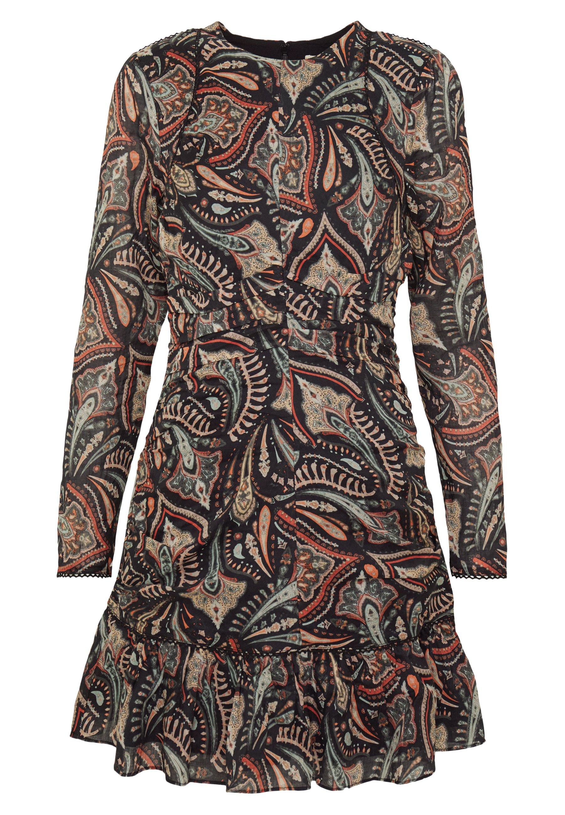 Stevie May Cannes Mini Dress - Vapaa-ajan Mekko Saffron