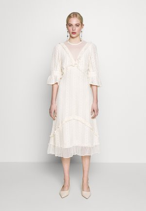 GALLERY MIDI DRESS - Day dress - cream