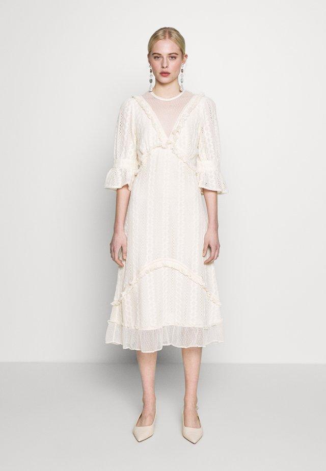 GALLERY MIDI DRESS - Day dress - cream