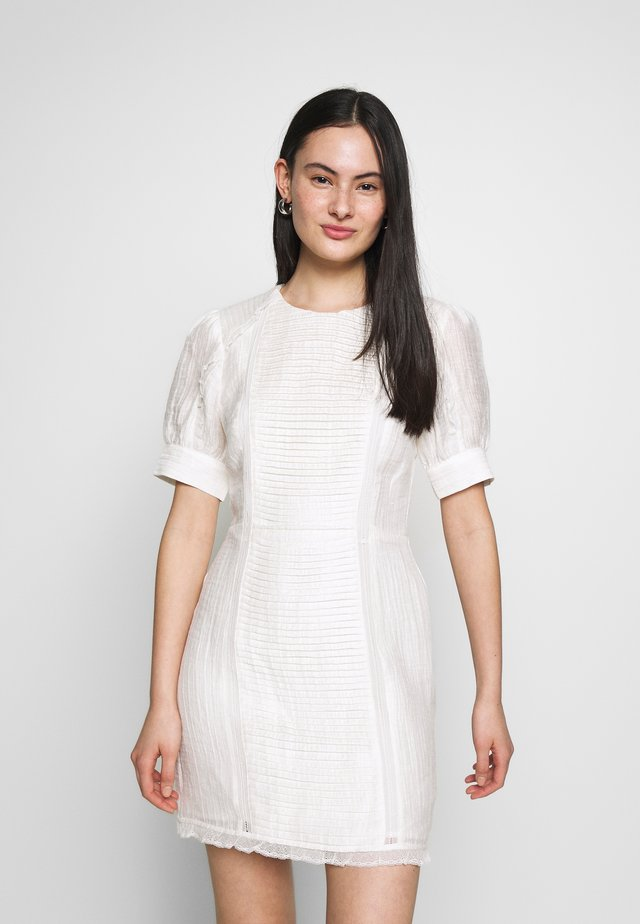 THRIVE MINI DRESS - Day dress - white