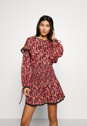 MINI DRESS - Day dress - red