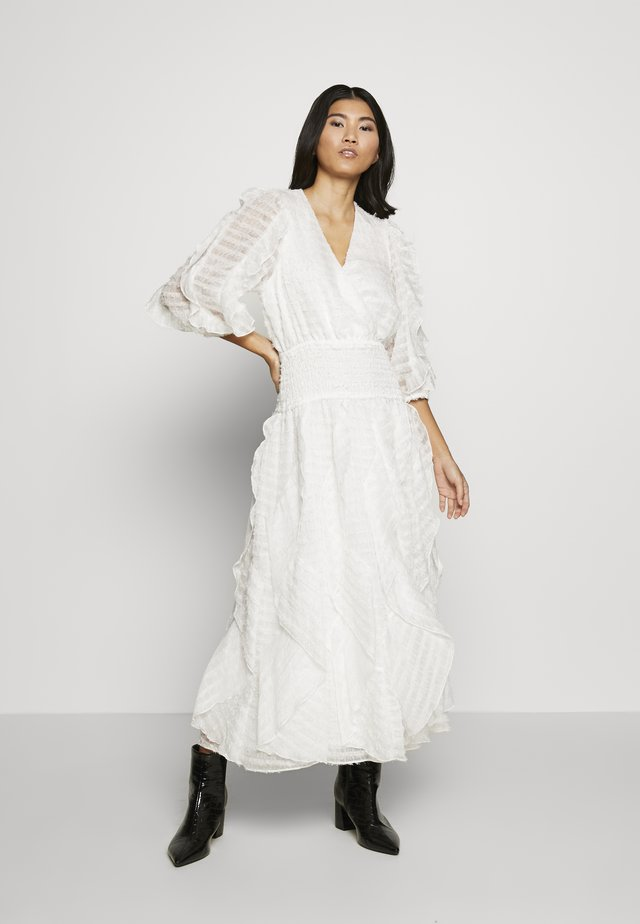 SANCTUARY MIDI DRESS - Day dress - white