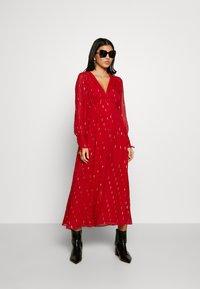 Stevie May - DRESS - Day dress - ruby foil - 2