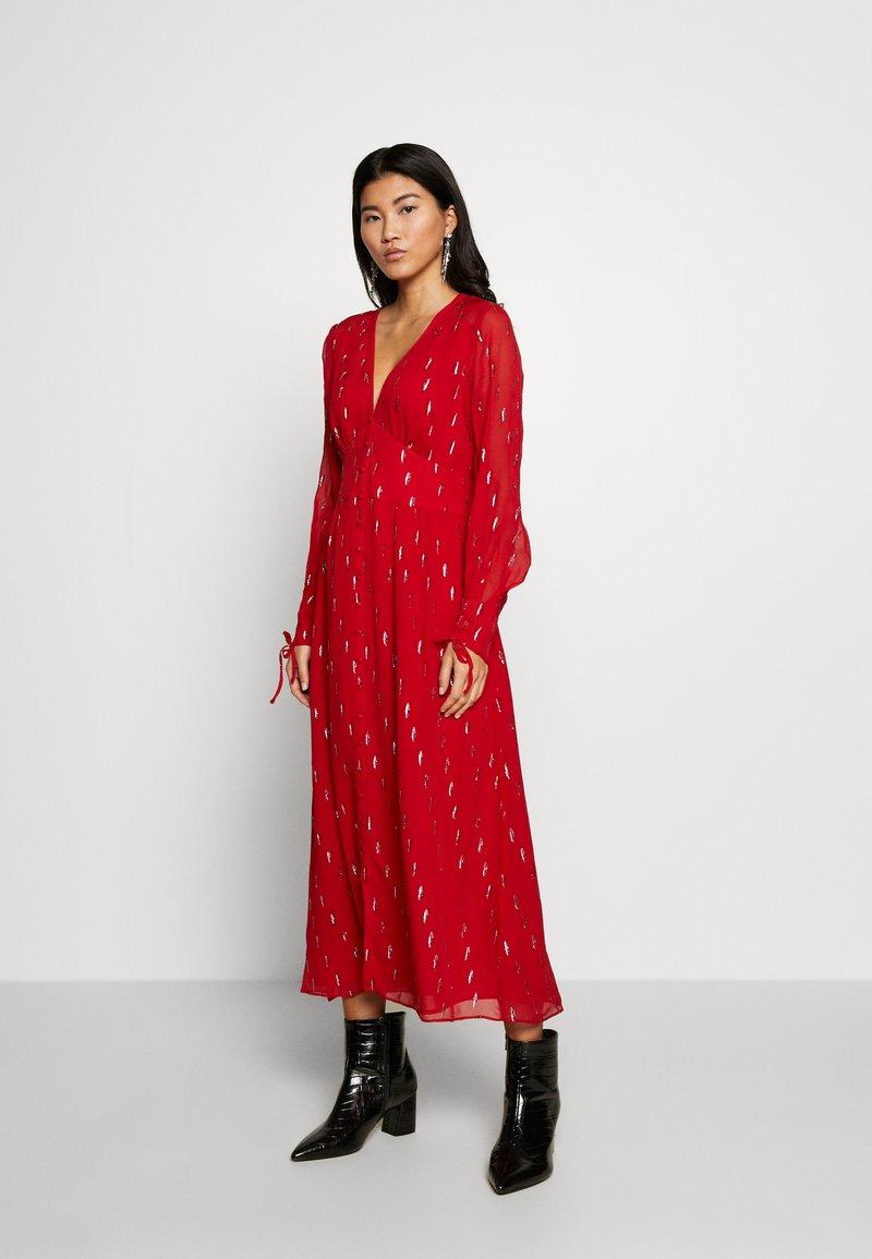 Stevie May - DRESS - Day dress - ruby foil