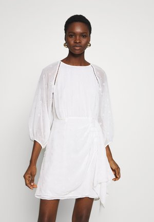 ARDEN MINI DRESS - Day dress - white