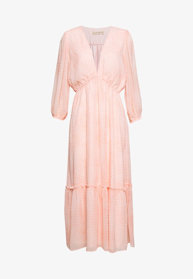 PRAISE YOU MIDI DRESS - Korte jurk - pink