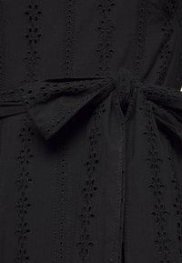 Stevie May - GOOD TIMES MIDI DRESS - Day dress - black anglaise - 2