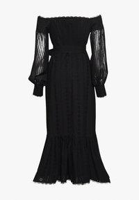 Stevie May - GOOD TIMES MIDI DRESS - Day dress - black anglaise - 1