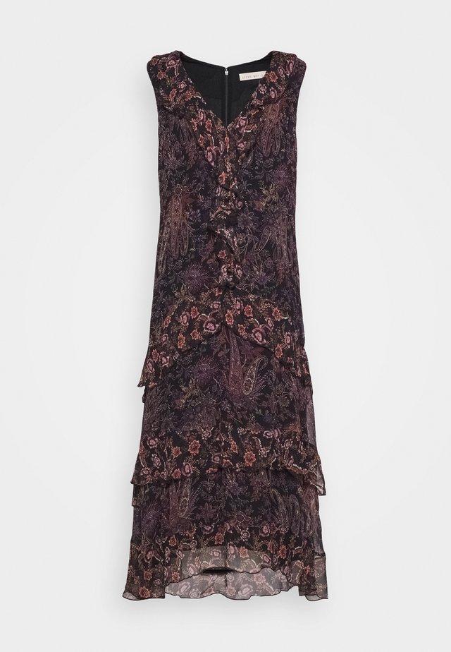 COSMIC LOVE MIDI DRESS - Day dress - black
