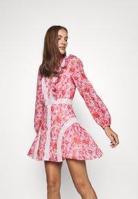 Stevie May - CIRCLES MINI DRESS - Day dress - red - 3