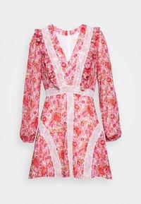 Stevie May - CIRCLES MINI DRESS - Day dress - red - 4