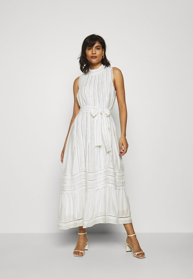 SAFIYA MIDI DRESS - Cocktail dress / Party dress - ecru