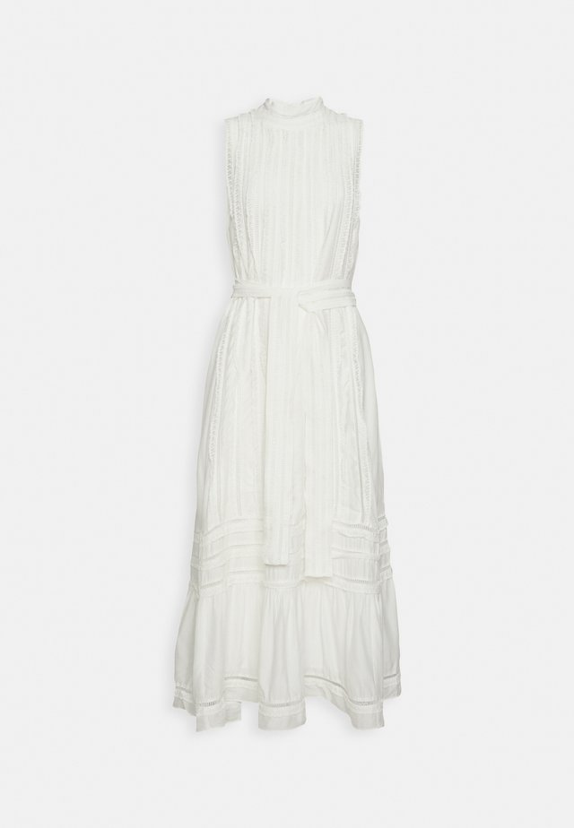 SAFIYA MIDI DRESS - Cocktailjurk - ecru