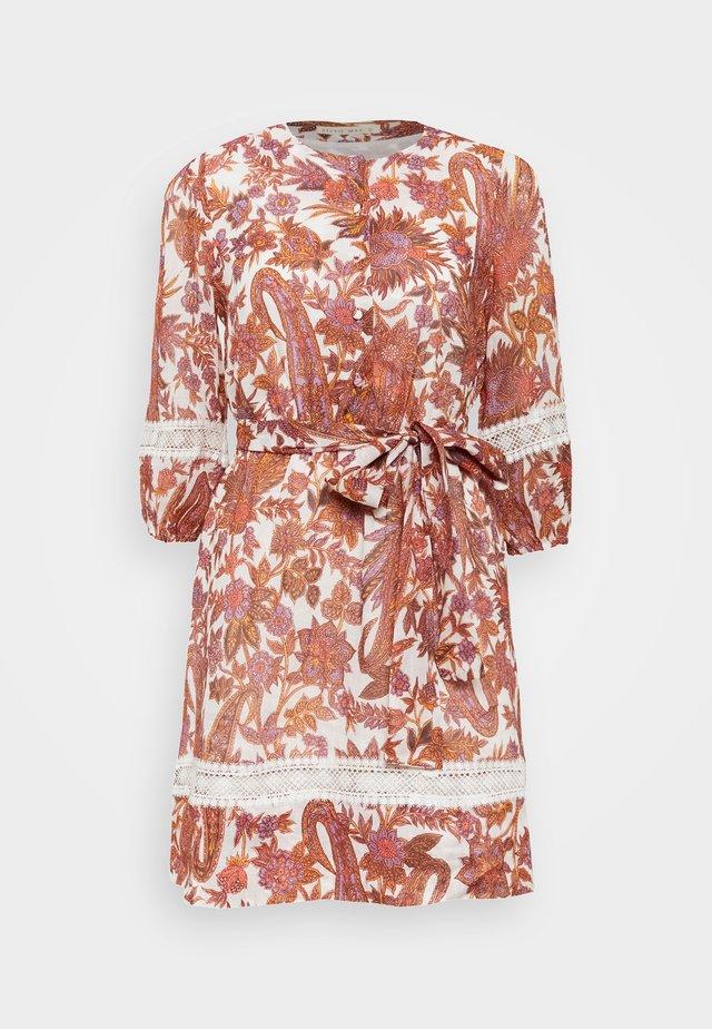 PRODIGY MINI DRESS - Day dress - apricot