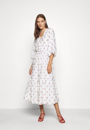 DEJA MIDI DRESS - Day dress - white