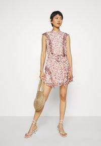 Stevie May - SKY FULL MINI DRESS - Shirt dress - light pink - 1