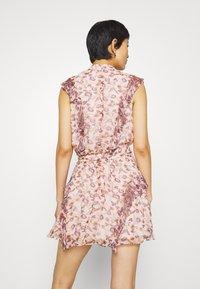 Stevie May - SKY FULL MINI DRESS - Shirt dress - light pink - 2