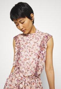 Stevie May - SKY FULL MINI DRESS - Shirt dress - light pink - 3