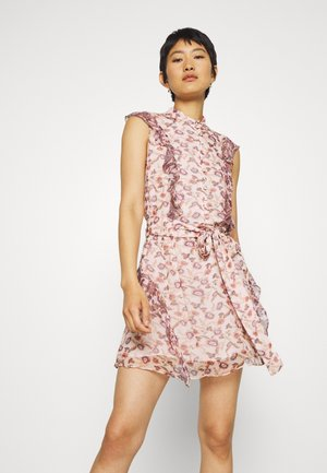 SKY FULL MINI DRESS - Shirt dress - light pink