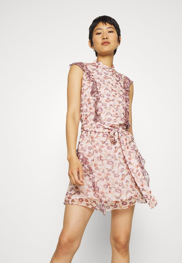 SKY FULL MINI DRESS - Shirt dress - light pink